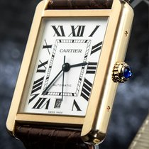 Cartier Tank Solo W5200026 Very good Gold/Steel 31mm Automatic