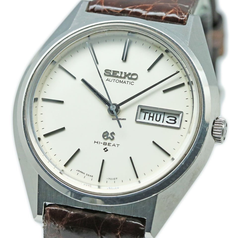 Seiko Grand Seiko 5646-7010 1971 pre-owned