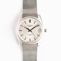 Longines Admiral Steel 36.5mm Silver United States of America, New York, New York