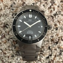 IWC Aquatimer Automatic 2000 pre-owned 42mm Black Date Titanium