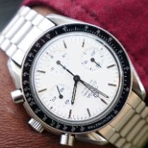 Omega Speedmaster Reduced Steel 39mm White No numerals United Kingdom, Macclesfield