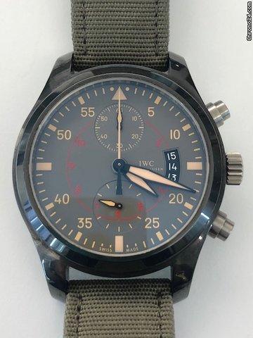 IWC Pilot Chronograph Top Gun Miramar IW388002 2010 pre-owned