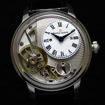 Maurice Lacroix Masterpiece Gravity Acero 43mm Blanco Sin cifras