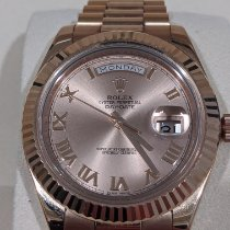Rolex Day-Date II Rose gold 41mm Pink Roman numerals United States of America, Texas, Canton