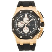 Audemars Piguet 26401RO.OO.A002CA.01 Or rose Royal Oak Offshore Chronograph 44mm occasion