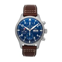 IWC Pilot Chronograph Steel 43mm Blue No numerals United States of America, Pennsylvania, Bala Cynwyd