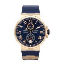 Ulysse Nardin Marine Chronometer Manufacture Or rose 43mm Bleu