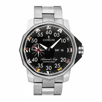 Corum Admiral's Cup (submodel) Titanium 48mm Black Arabic numerals United States of America, Pennsylvania, Bala Cynwyd