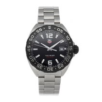 TAG Heuer Formula 1 Quartz Steel 41mm Black No numerals
