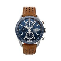 TAG Heuer Carrera Calibre 16 Steel 41mm Blue No numerals United States of America, Pennsylvania, Bala Cynwyd