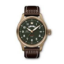 IWC Pilot Spitfire UTC Bronze Green United States of America, Iowa, Des Moines