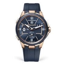 Ulysse Nardin Rose gold Automatic Blue new Executive Dual Time