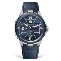 Ulysse Nardin Executive Dual Time Steel Blue United States of America, Florida, North Miami Beach