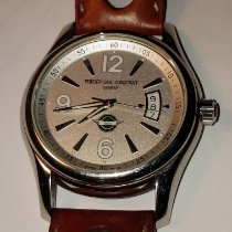 Frederique Constant Vintage Rally Acier 42mm Blanc Arabes France, antibes