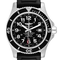 Breitling Steel Automatic Black Arabic numerals 44mm pre-owned Superocean II 44