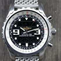 Breitling Chronospace Steel 48mm Black Arabic numerals Australia, Keysborough