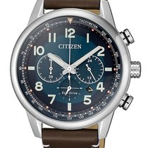 Citizen Steel 43mm Quartz CA4420-13L new