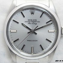 Rolex Air King Precision Otel 34mm Argint Fara cifre