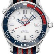 Omega Seamaster Diver 300 M Steel 41mm White United States of America, California, Moorpark