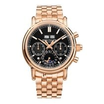 Patek Philippe Perpetual Calendar Chronograph 5204/1R-001 New Rose gold 40.2mm Manual winding