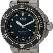 Oris Aquis Depth Gauge Steel 46mm Black United States of America, Texas, Austin