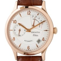 Zenith Elite Power Reserve Rose gold 37mm Silver Arabic numerals United States of America, Texas, Austin