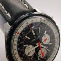 Breitling Acero Cuerda manual Negro usados Chronomat
