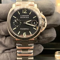 Panerai Luminor Marina Automatic Acciaio 40mm Nero Arabi Italia, Milano