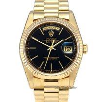 Rolex Day-Date 36 Yellow gold 36mm Black No numerals United Kingdom, Manchester