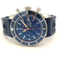 Breitling Superocean Heritage Chronograph Stahl 46mm Blau Keine Ziffern Deutschland, Essen