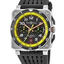 Bell & Ross BR 03-94 Chronographe new Automatic Chronograph Watch with original box BR0394-RS19/SRB