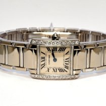 Cartier Tank Française WE1002S3 2007 pre-owned