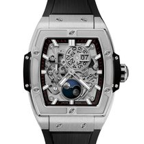 Hublot Spirit of Big Bang Titanio 42mm Transparente Sin cifras