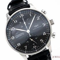 IWC Portugieser Chronograph IW3714 Sehr gut Stahl 41mm Automatik Deutschland, München