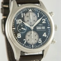 IWC Fliegeruhr Chronograph Stahl 42mm Braun Arabisch Deutschland, Heilbronn