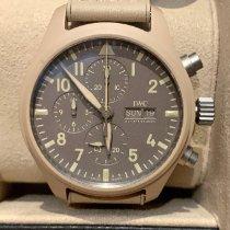 IWC Fliegeruhr Chronograph Top Gun Keramik 44.5mm Braun Deutschland, Riemerling