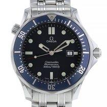Omega Seamaster Diver 300 M occasion 41mm Bleu Date Acier