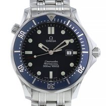 Omega Seamaster Diver 300 M Acier 41mm Bleu Sans chiffres France, Paris
