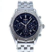 Breitling Shadow Flyback Acero 38mm Negro