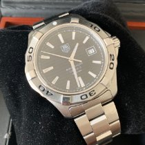 TAG Heuer Aquaracer 300M Steel 43mm Black No numerals