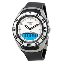 Tissot Sailing-Touch Acero 45mm Blanco