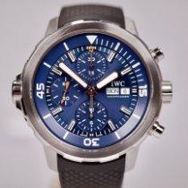 IWC Aquatimer Chronograph Zeljezo 44mm Plav-modar Bez brojeva