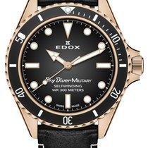 Edox Bronce Negro 42mm nuevo