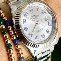 Rolex Datejust II Steel 41mm Silver No numerals