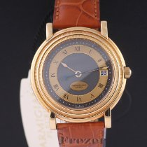 Parmigiani Fleurier Yellow gold Automatic Grey Roman numerals 40mm new Toric