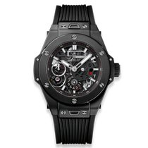 Hublot Big Bang Meca-10 nuevo Cuerda manual Reloj con estuche y documentos originales 414.CI.1123.RX
