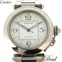 Cartier Pasha C Acero 35mm Blanco
