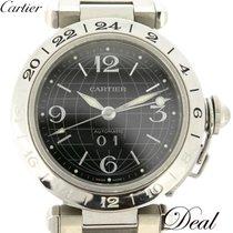 Cartier Pasha C Acero 35mm Negro