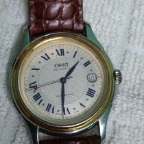 Oris Gold/Steel 38mm Automatic pre-owned India, delhi