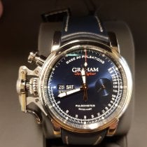 Graham Chronofighter 2CVCS.U14A New Steel 44mm Automatic